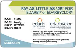 Edarbi Savings Card