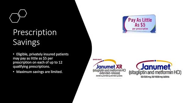 Janumet Savings Card