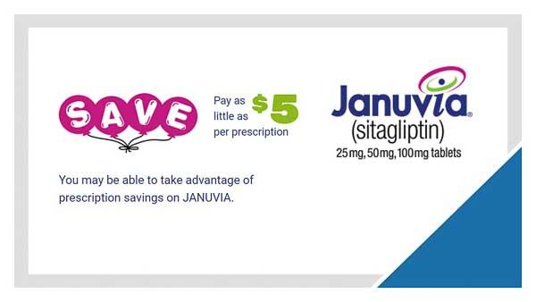 Januvia Savings Card