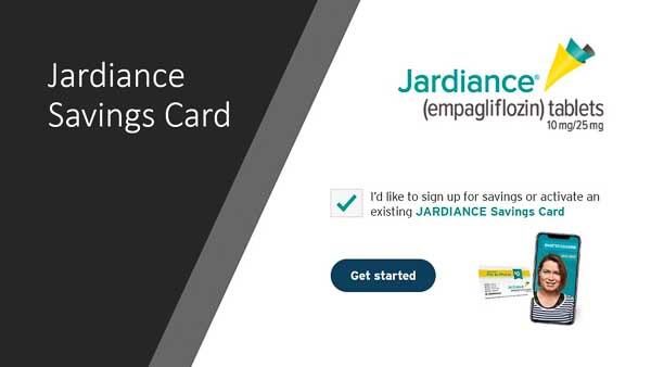 Jardiance Savings Card
